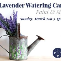 Spring Paint and Sip